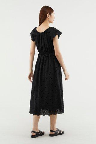 Litisha Broderie Dress