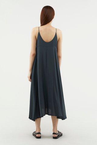 Salley Curve-hem Dress