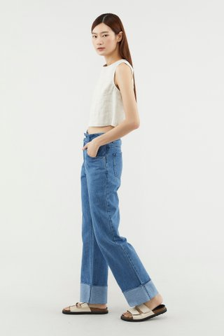 Rayma Cuffed Jeans