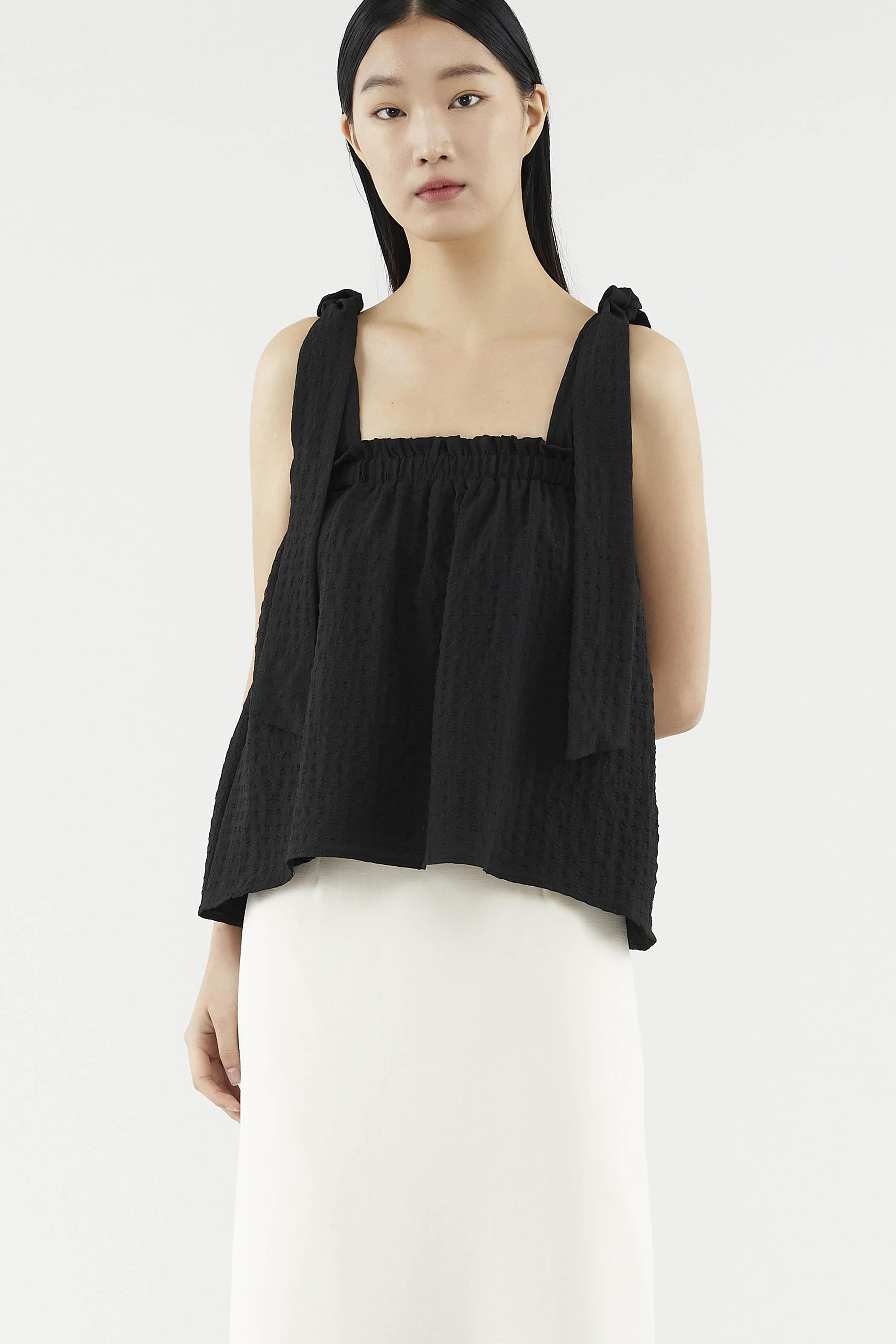 Effie Square-neck Top