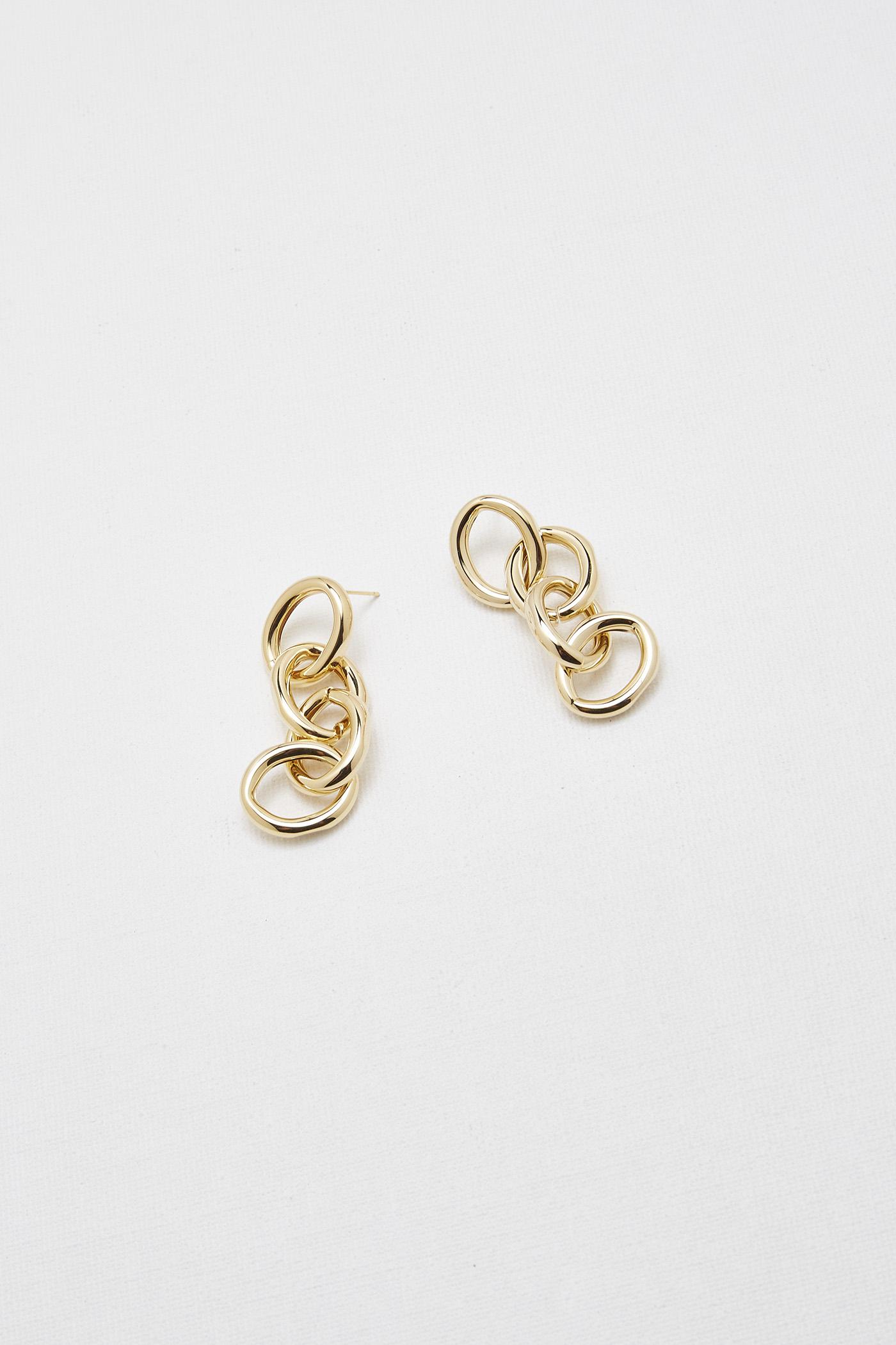 Keira Chain Earrings