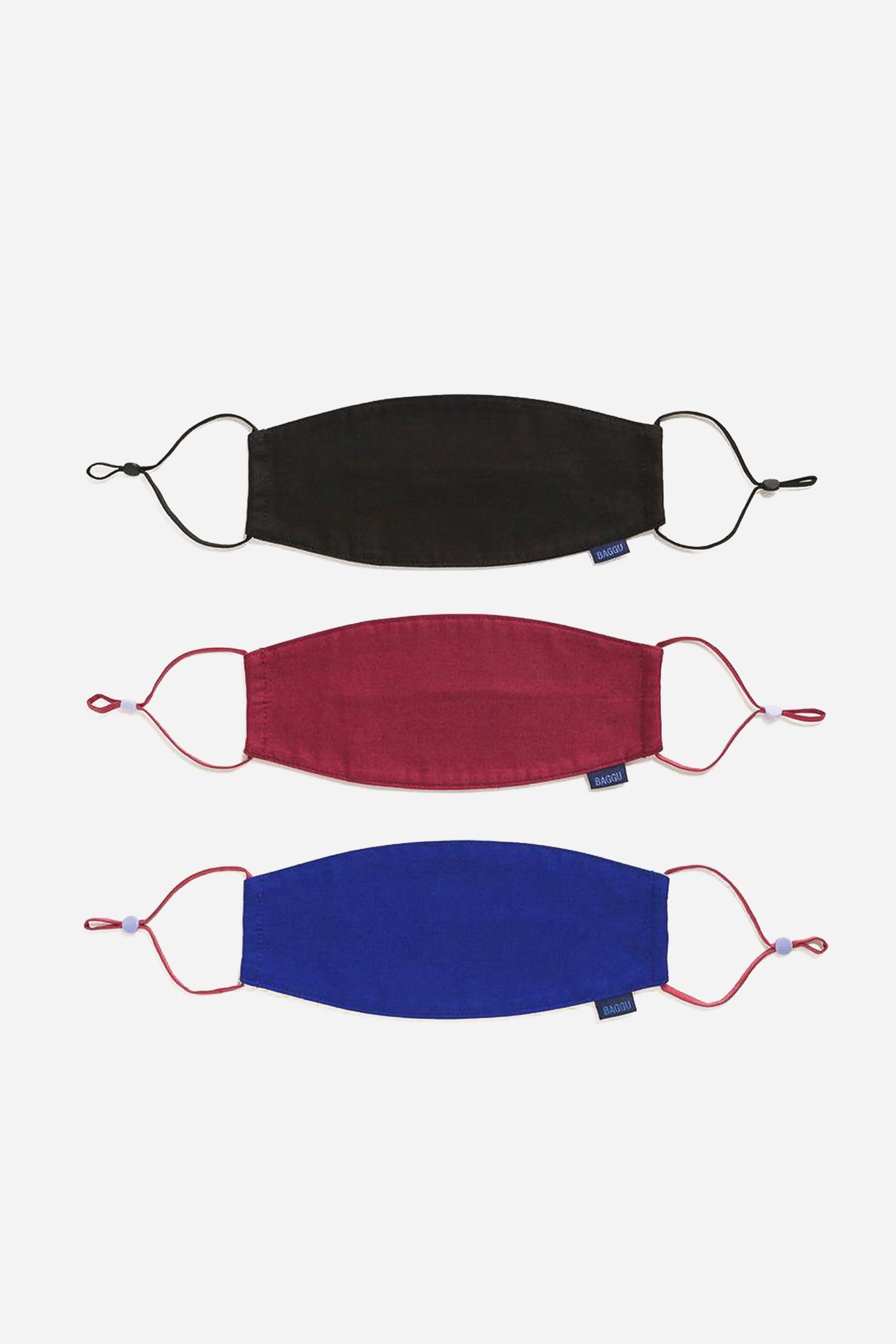 Baggu Fabric Loop Mask Set