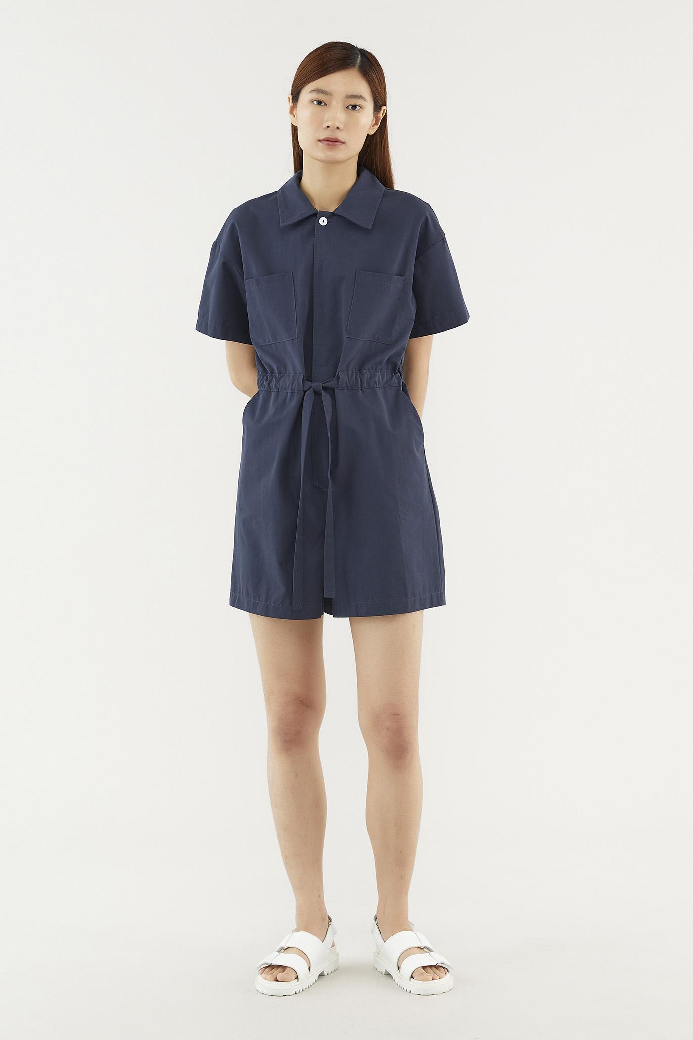 Kynlee Shirt Jumpsuit
