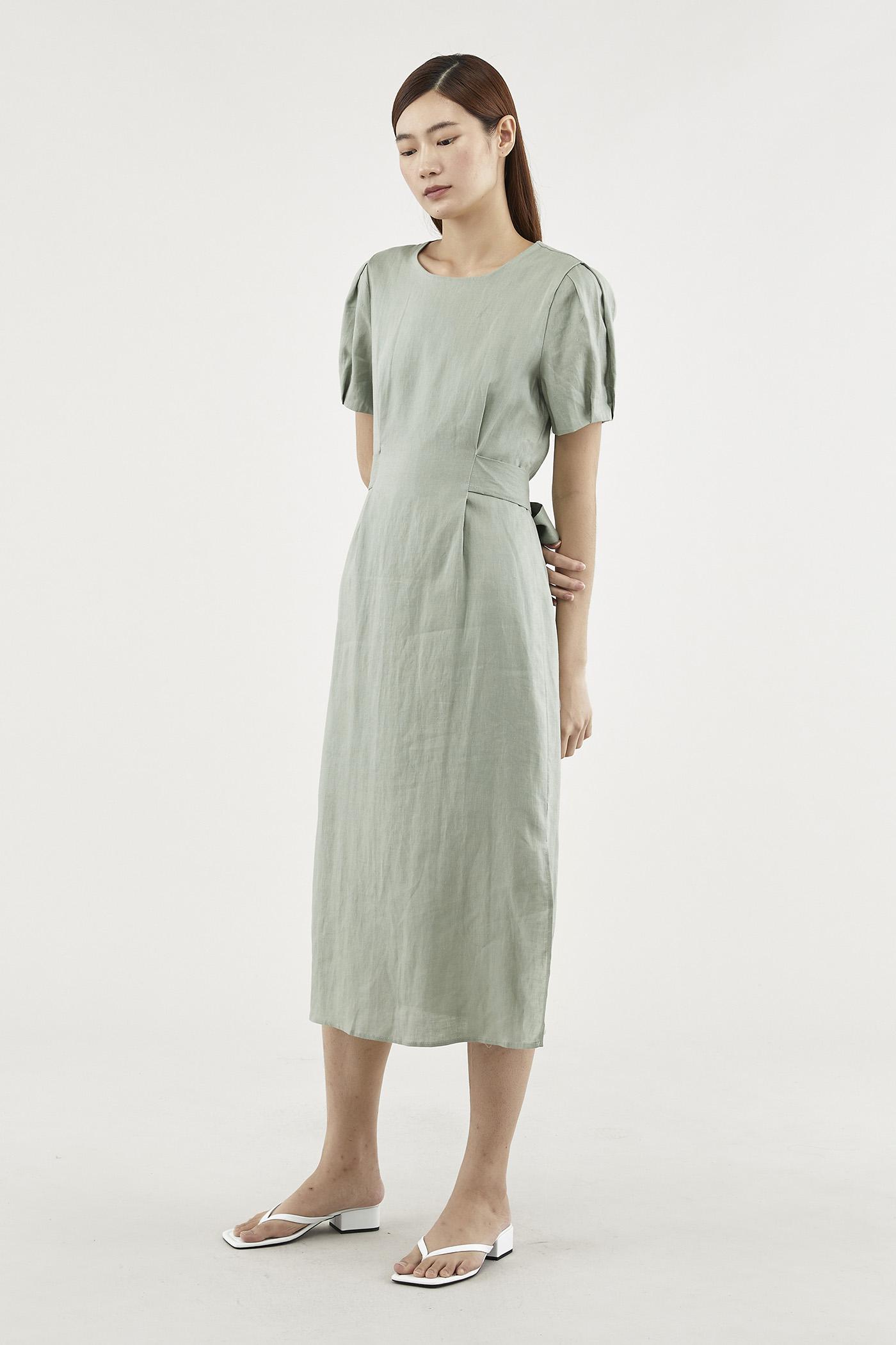 Nately Strap-tie Dress