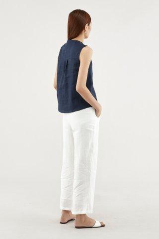 Eunice Stand-collar Top