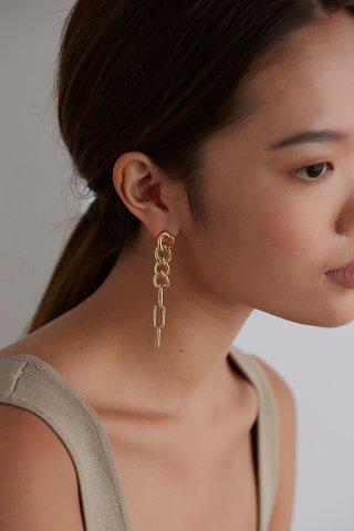 Corinne Chain Earrings