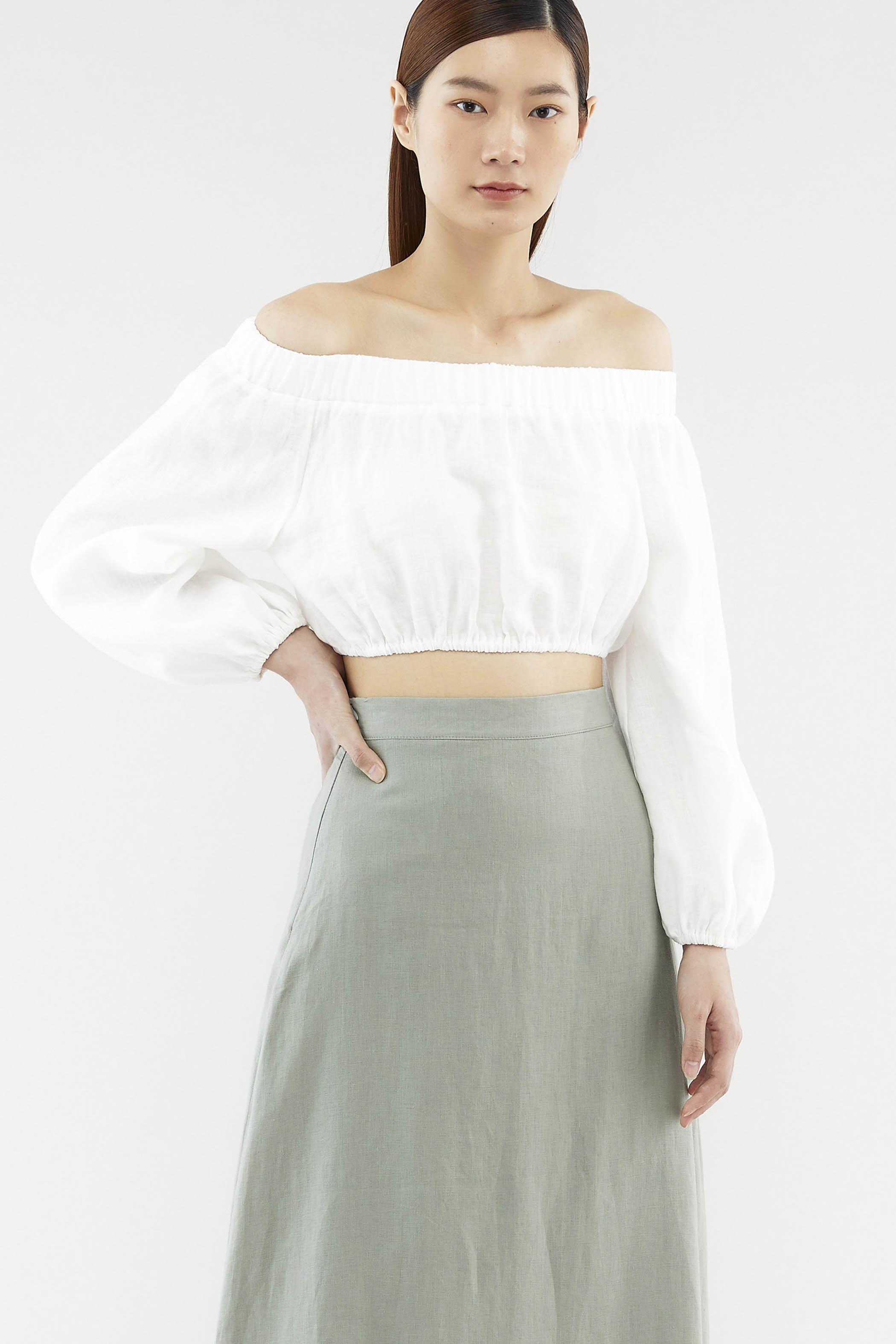 Leela Off-shoulder Top