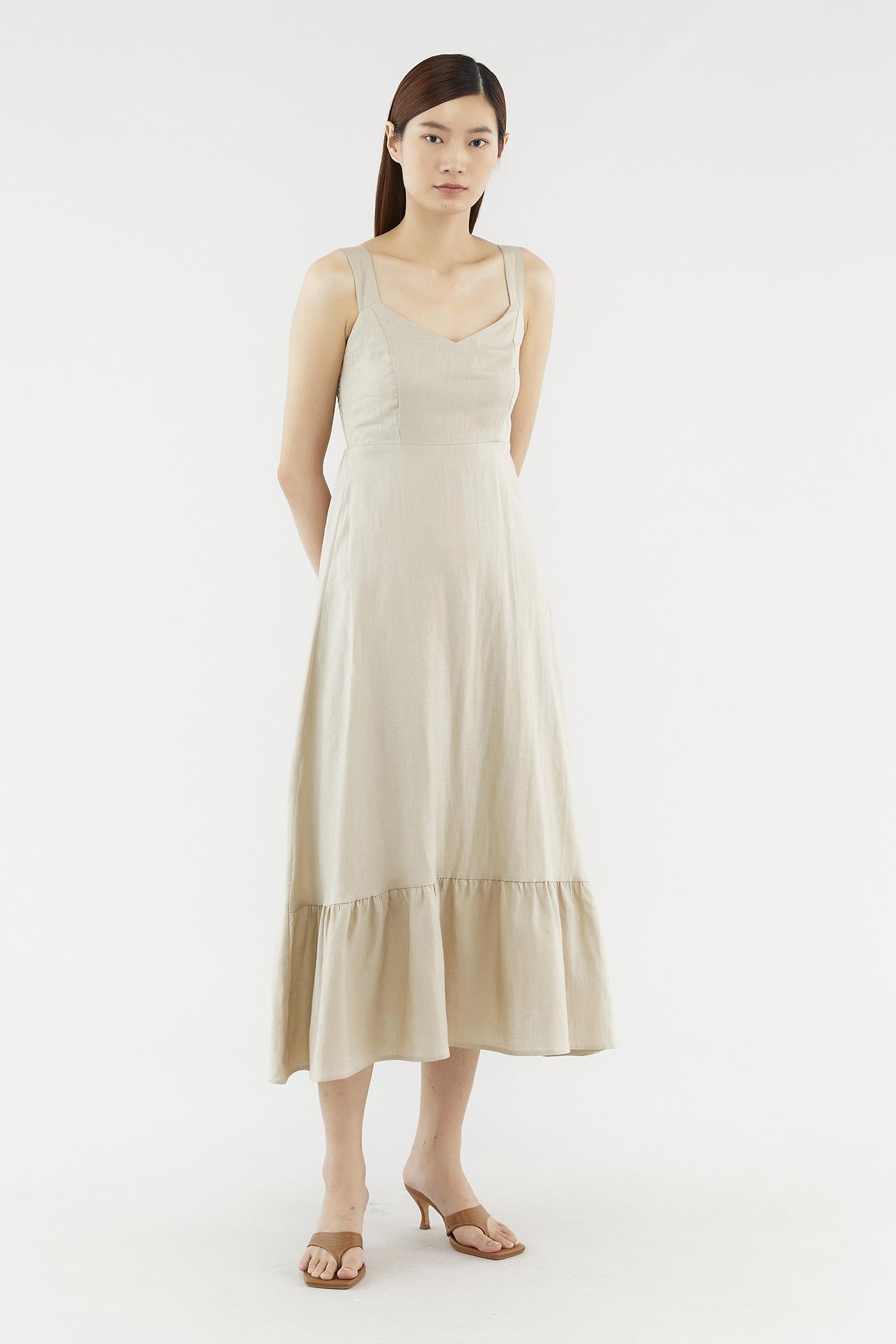 Mirella Linen Dress