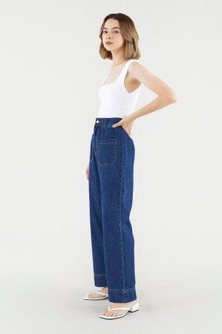 Tamia Straight-Leg Jeans