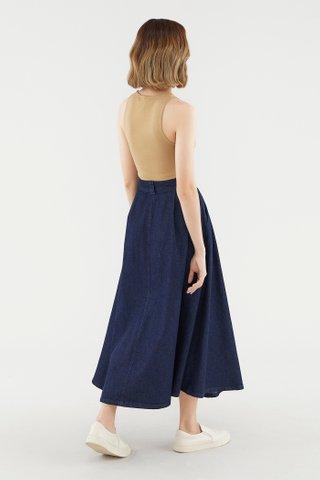 Kindall Denim Skirt
