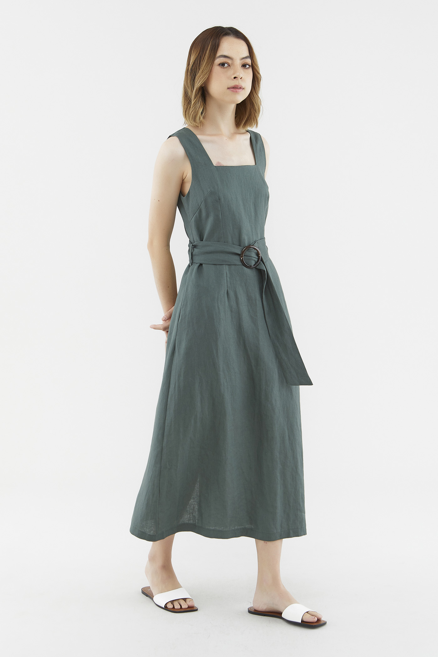 Phedra Belted Dress