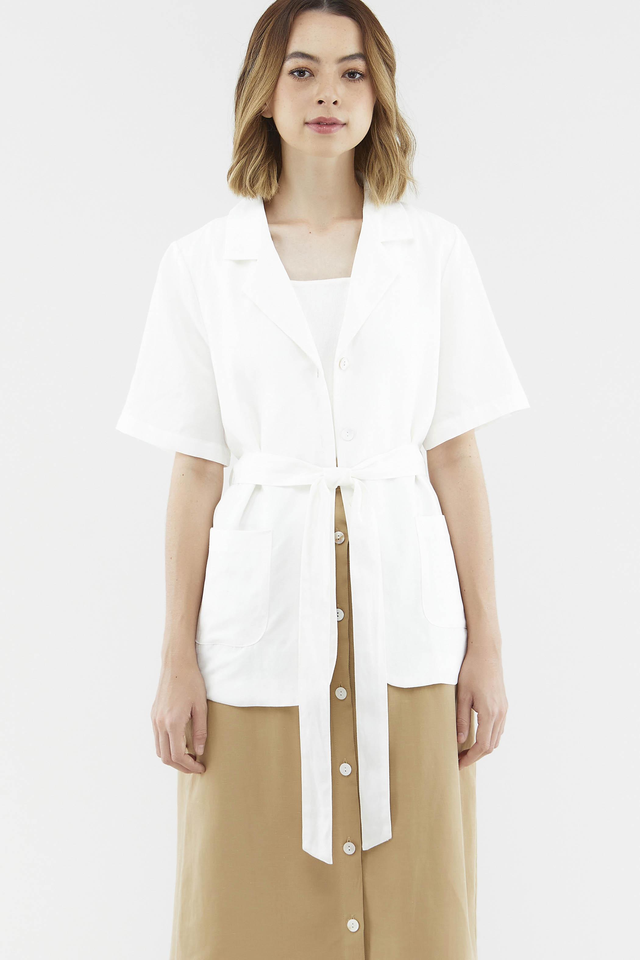 Hillory Short-Sleeve Blazer