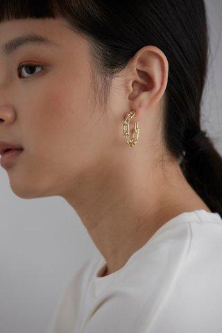 Emilia Hoop Earrings