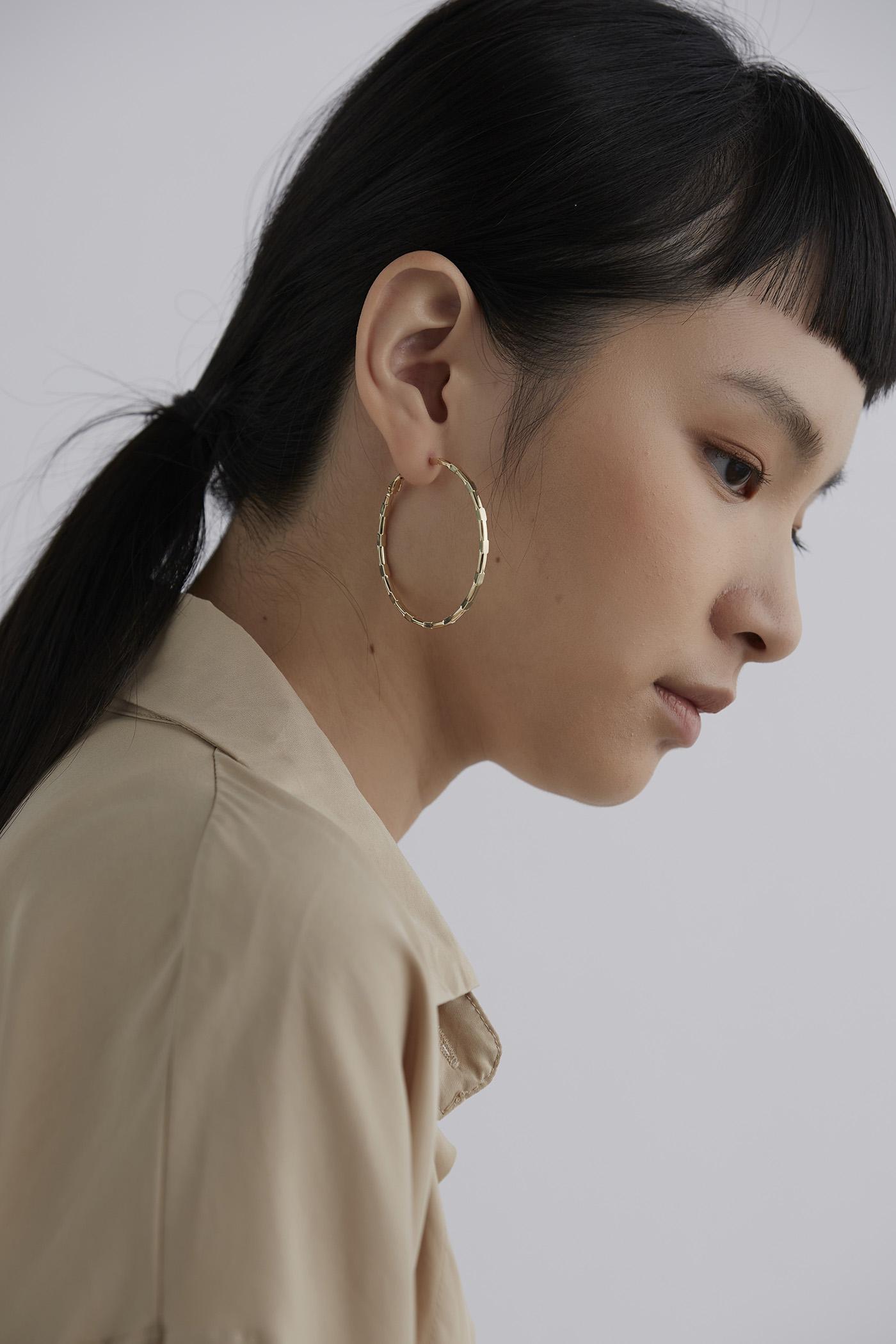 Cairo Hoop Earrings