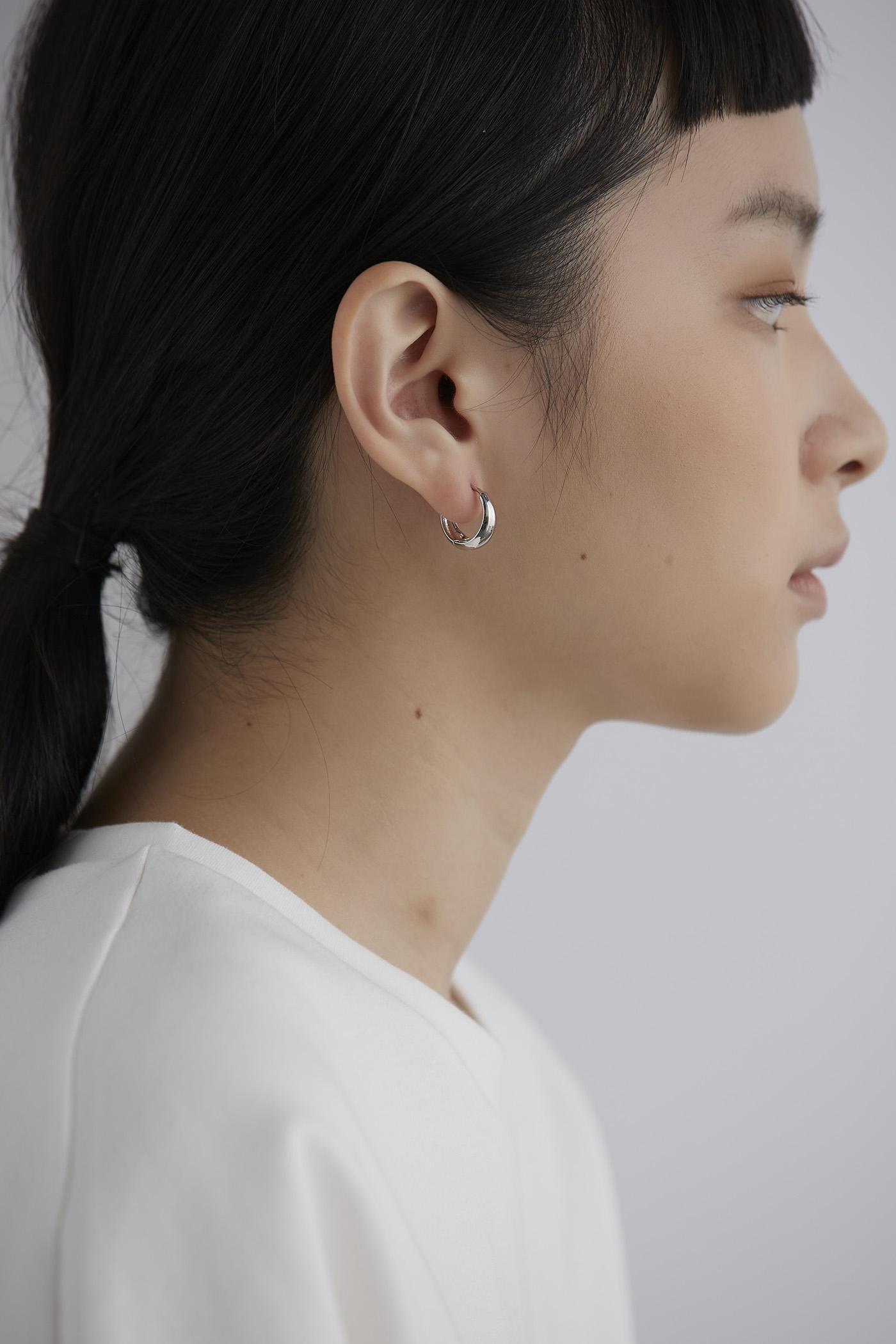 Mika Hoop Earrings