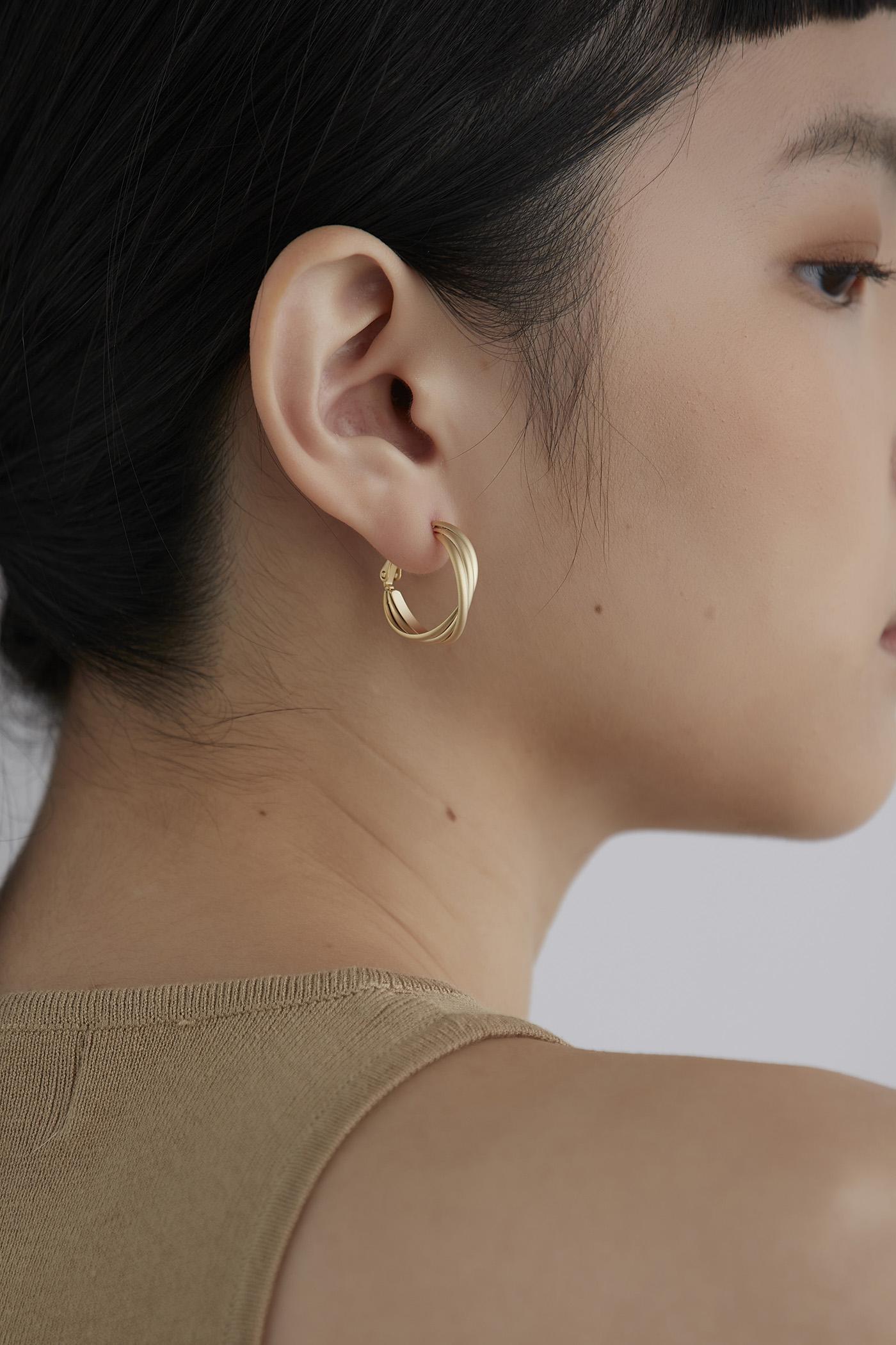 Drew Hoop Earrings