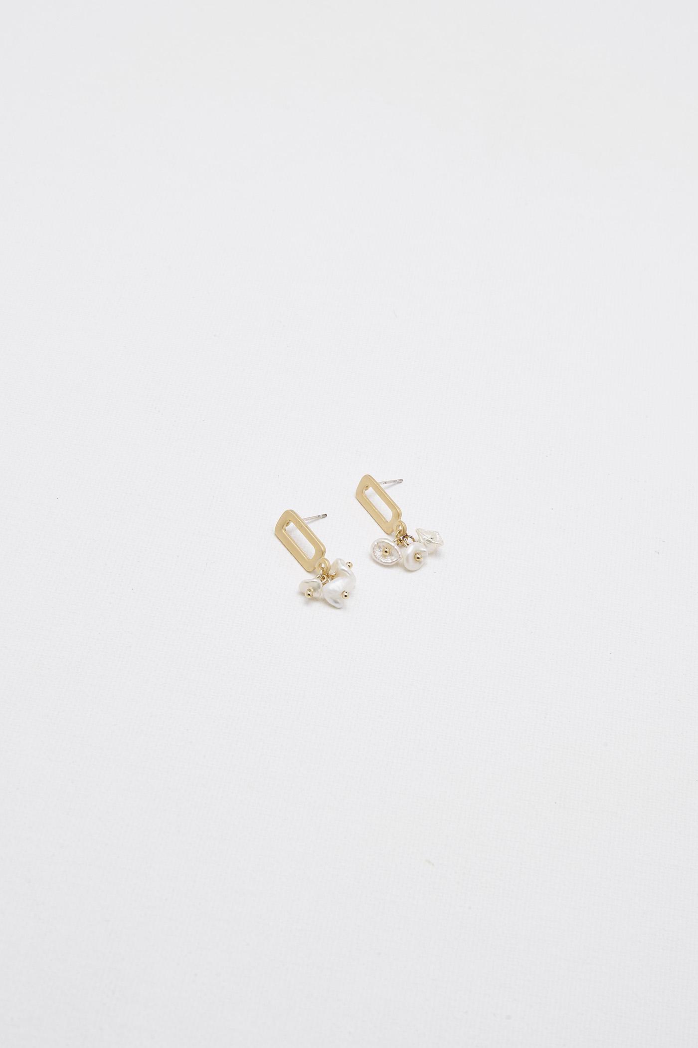 Mace Drop Earrings